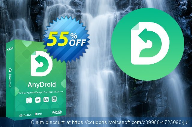 AnyTrans for Android Lifetime discount 50% OFF, 2020 College Student deals offering sales