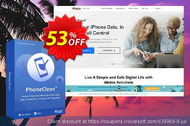 PhoneClean Pro for Windows - family license  최고의   매상  스크린 샷