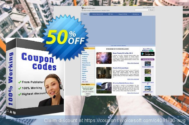 Church 3D Screensaver discount 50% OFF, 2020 Working Day offering sales