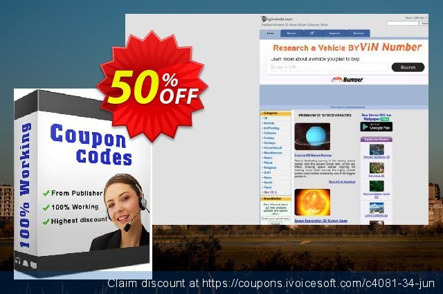 Spring Valley 3D Screensaver discount 50% OFF, 2020 New Year's Weekend offering sales