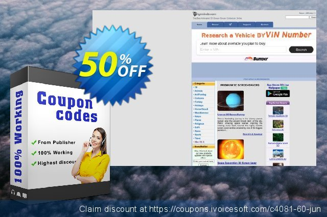 Earth 3D Space Survey Screensaver discount 50% OFF, 2020 American Independence Day promo sales