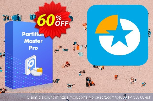 EaseUS Partition Master Pro Lifetime 激动的 促销销售 软件截图