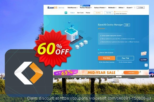 EaseUS Deploy Manager discount 40% OFF, 2021 New Year offering sales