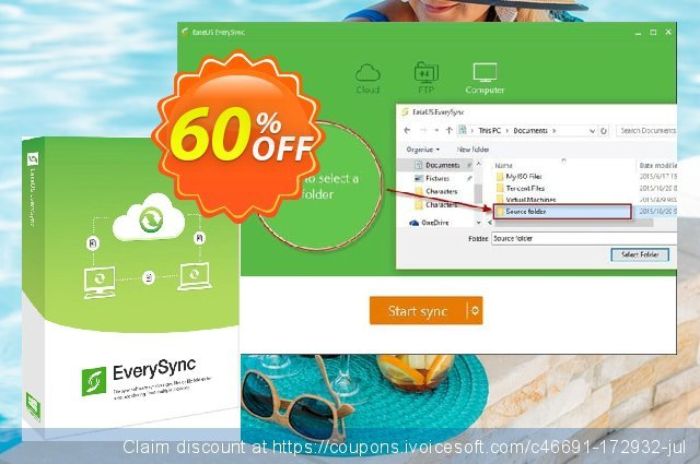 EaseUS EverySync discount 40% OFF, 2020 Thanksgiving offering sales