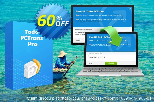 EaseUS Todo PCTrans Pro (Annual) discount 59% OFF, 2020 Black Friday offering deals