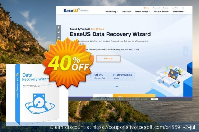 EaseUS Data Recovery Wizard 9.0 Coupon