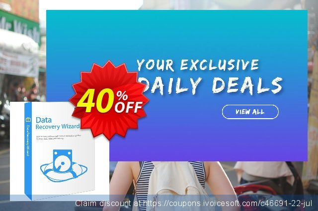 EaseUS Data Recovery Wizard for Mac discount 20% OFF, 2019 Summer offering sales