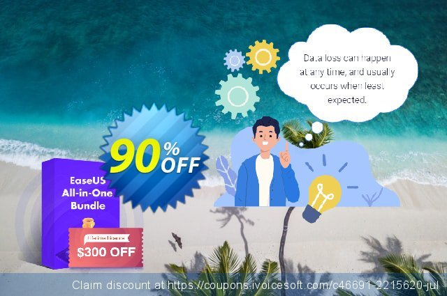 EaseUS All-In-One Bundle Lifetime License discount 90% OFF, 2021 Halloween offering deals. 75% OFF EaseUS All-In-One Bundle Lifetime License, verified