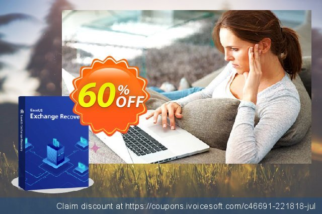 EaseUS Exchange Recovery (Lifetime) discount 40% OFF, 2020 Thanksgiving Day offering sales