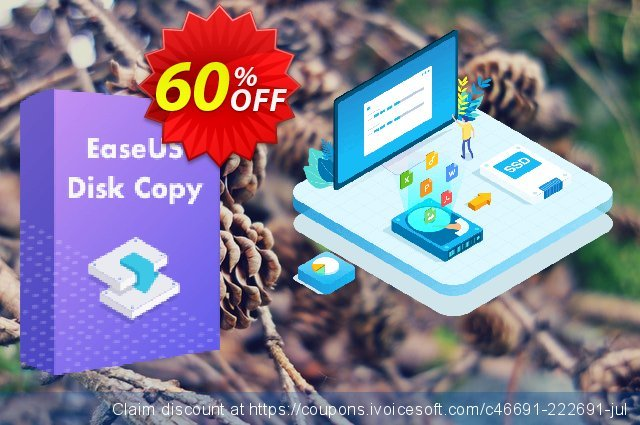 EaseUS Disk Copy Pro (Lifetime) discount 40% OFF, 2020 Thanksgiving Day offering sales