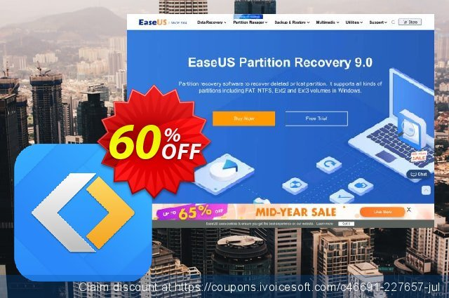 EaseUS Partition Recovery discount 40% OFF, 2020 Black Friday deals