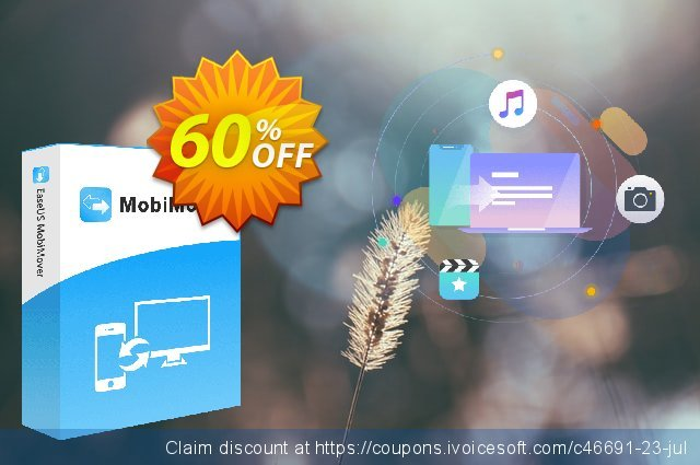 EaseUS MobiMover Pro discount 61% OFF, 2020 Halloween offering sales