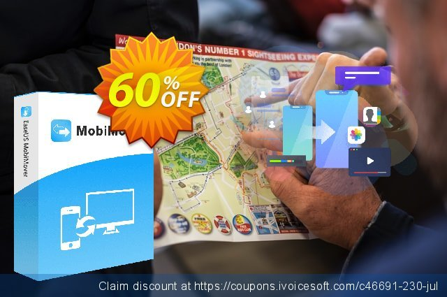 EaseUS MobiMover Pro (1 month) discount 60% OFF, 2021 All Hallows' Eve offering sales. 42% OFF EaseUS MobiMover Pro (1 month), verified