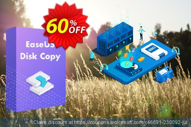 EaseUS Disk Copy Pro (1 month) discount 60% OFF, 2021 Women Day offering sales