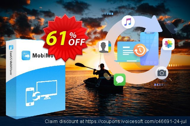 Get 80% OFF EaseUS MobiMover Pro (For 1 Year) offering sales