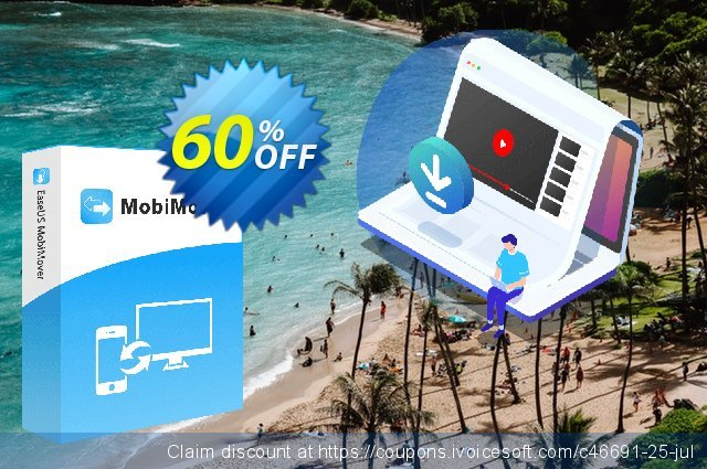 EaseUS MobiMover Pro for Mac discount 58% OFF, 2020 Halloween offering sales