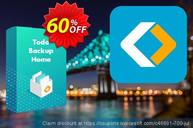 EaseUS Todo Backup Home (2 year) discount 60% OFF, 2021 Women Day promotions