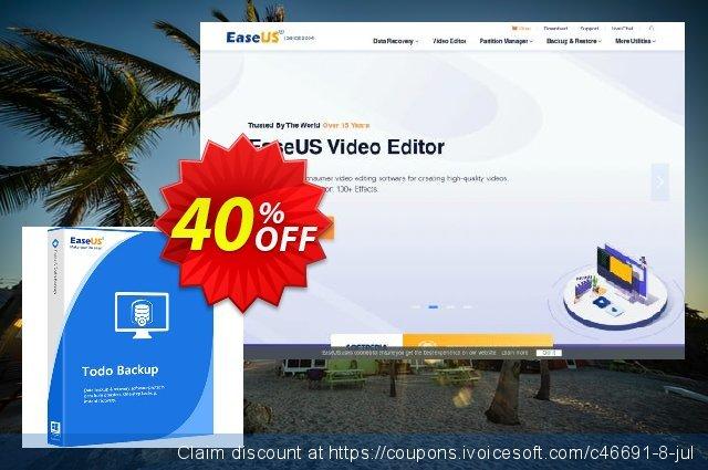 EaseUS Todo Backup Workstation 惊人 产品销售 软件截图