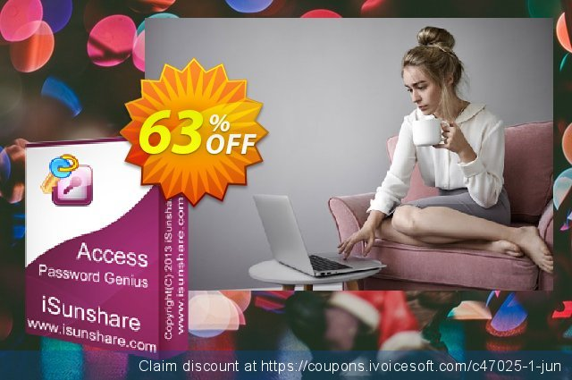 iSunshare Access Password Genius discount 63% OFF, 2020 Fourth of July offering deals