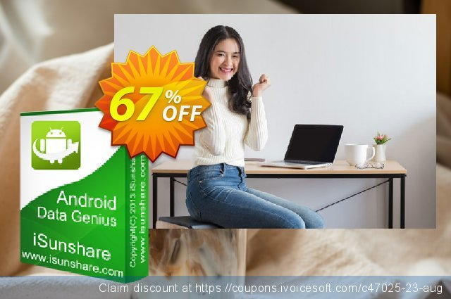iSunshare Android Data Genius discount 67% OFF, 2019 Thanksgiving offering sales