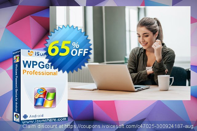 iSunshare WPGenius Professional discount 65% OFF, 2019 Black Friday offering sales