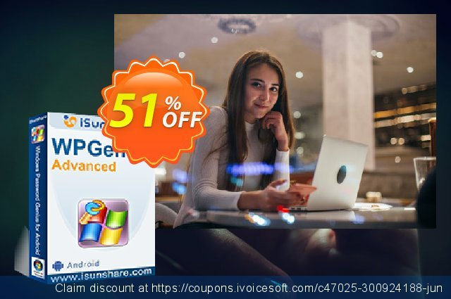 iSunshare WPGenius Advanced discount 51% OFF, 2020 New Year's Weekend offer