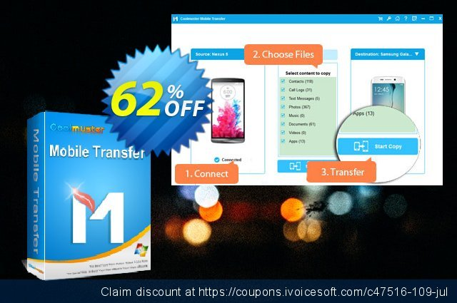 Coolmuster Mobile Transfer - Lifetime License(1 PC) 대단하다  제공  스크린 샷