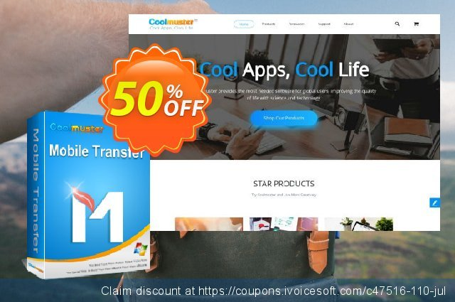 Coolmuster Mobile Transfer - Lifetime License(2-5PCs)  최고의   세일  스크린 샷