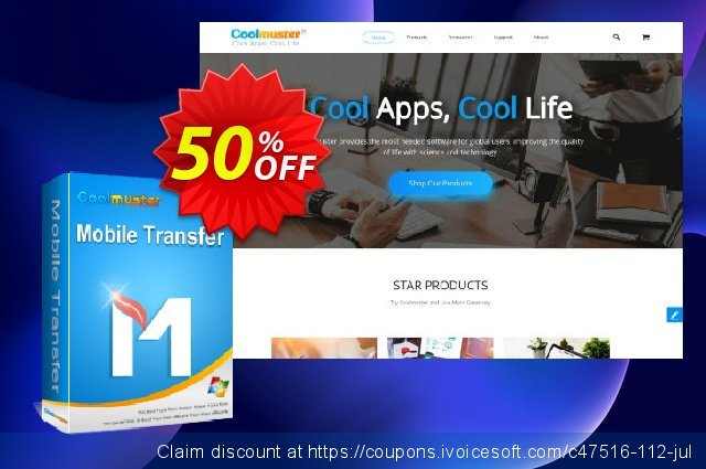 Coolmuster Mobile Transfer - Lifetime License(11-15PCs) 超级的 扣头 软件截图
