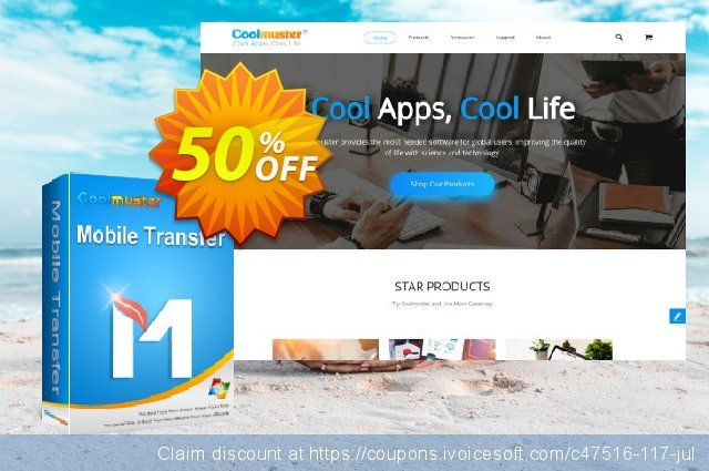 Coolmuster Mobile Transfer - 1 Year License(2-5PCs) 最 促销 软件截图