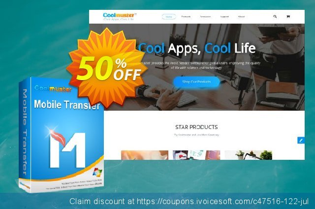 Coolmuster Mobile Transfer - 1 Year License(26-30PCs) 壮丽的 产品交易 软件截图