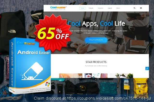 Coolmuster Android Eraser Lifetime License 超级的 交易 软件截图