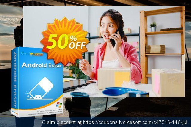 Coolmuster Android Eraser - Lifetime License(6-10PCs) discount 50% OFF, 2019 Summer sales