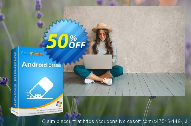 Coolmuster Android Eraser - Lifetime License(21-25PCs) discount 50% OFF, 2019 New Year offering sales