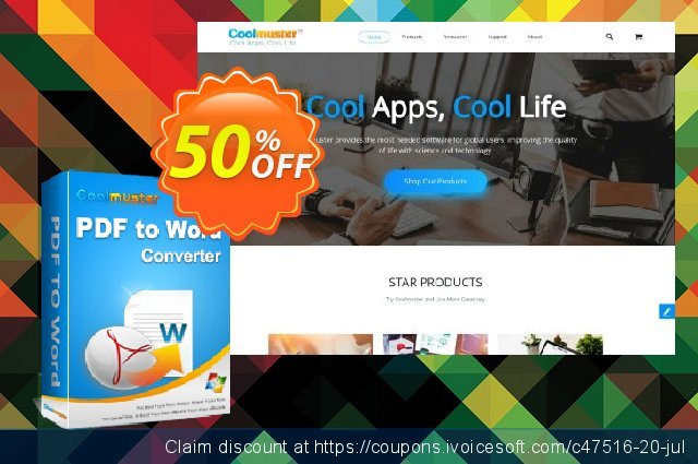 Coolmuster PDF to Word Converter discount 50% OFF, 2019 Xmas offering sales