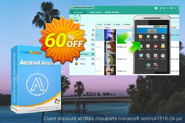Coolmuster Android Assistant discount 61% OFF, 2020 July 4th offering sales