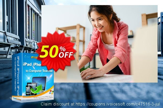Coolmuster iPad iPhone iPod to Computer Transfer discount 50% OFF, 2019 Father's Day offering sales