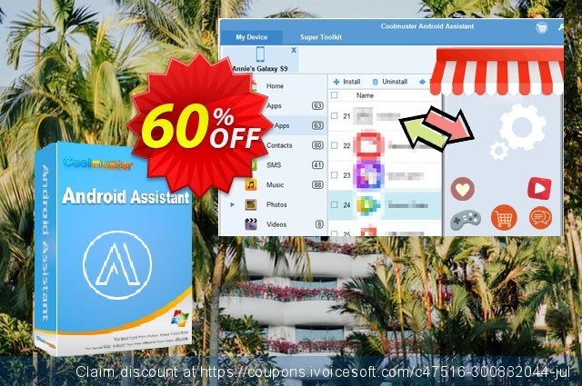 Coolmuster Android Assistant - Lifetime License discount 61% OFF, 2019 Black Friday offering sales