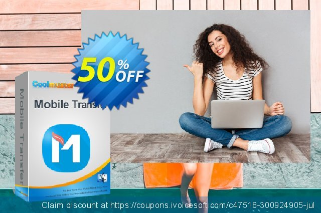 Coolmuster Mobile Transfer for Mac - Lifetime (21-25PCs) discount 50% OFF, 2021 New Year sales