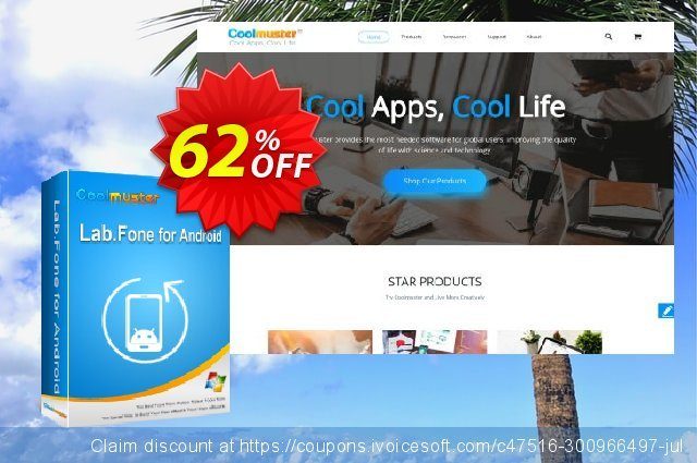 Coolmuster Lab.Fone for Android - 1 Year (5 Devices, 1 PC) 令人吃惊的 优惠 软件截图