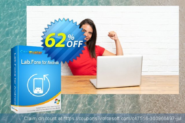 Coolmuster Lab.Fone for Android - 1 Year (5 Devices, 1 PC) discount 62% OFF, 2021 Labour Day offering sales. 62% OFF Coolmuster Lab.Fone for Android - 1 Year (5 Devices, 1 PC), verified