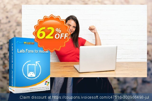 Coolmuster Lab.Fone for Android - 1 Year (10 Devices, 1 PC) discount 62% OFF, 2021 Working Day offering deals. 62% OFF Coolmuster Lab.Fone for Android - 1 Year (10 Devices, 1 PC), verified