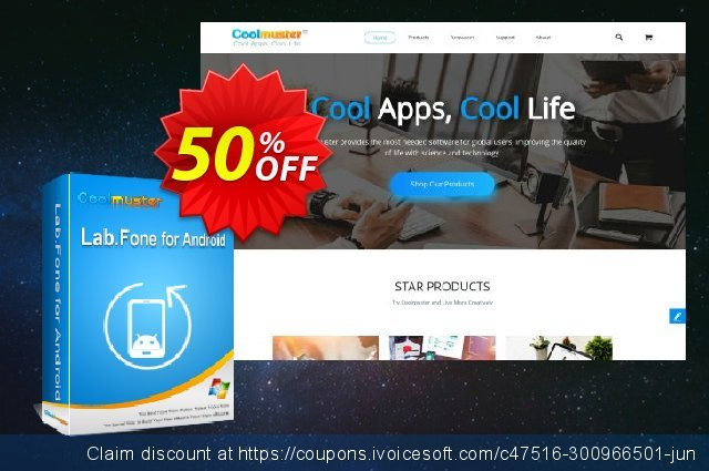 Coolmuster Lab.Fone for Android - 1 Year (25 Devices, 5 PC) discount 50% OFF, 2021 Labour Day offering sales. 50% OFF Coolmuster Lab.Fone for Android - 1 Year (25 Devices, 5 PC), verified