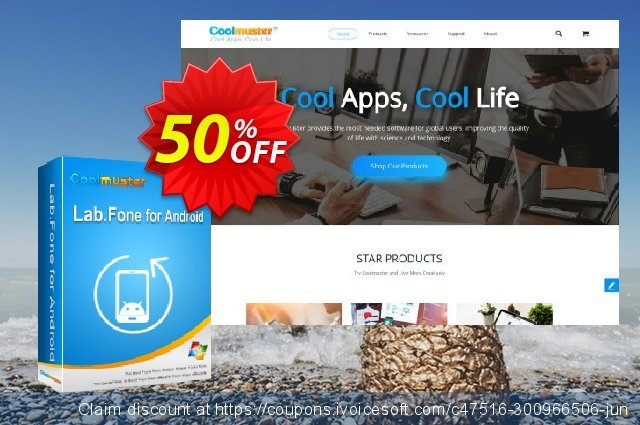 Coolmuster Lab.Fone for Android Lifetime (15 Devices, 1 PC) discount 50% OFF, 2021 Father's Day offering sales. 50% OFF Coolmuster Lab.Fone for Android Lifetime (15 Devices, 1 PC), verified