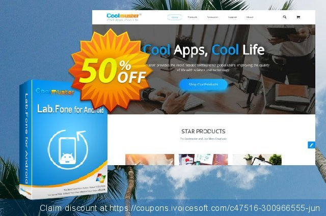 Coolmuster Lab.Fone for Android Lifetime (25 Devices, 5 PC) discount 50% OFF, 2021 Labour Day offering deals. 50% OFF Coolmuster Lab.Fone for Android Lifetime (25 Devices, 5 PC), verified