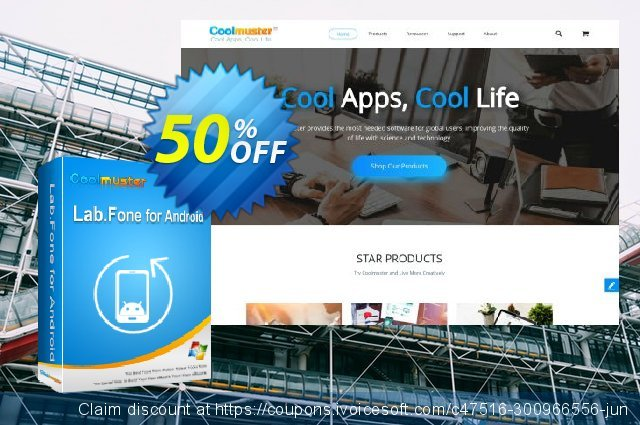 Coolmuster Lab.Fone for Android Lifetime (50 Devices, 10 PC) discount 50% OFF, 2021 Camera Day promo. 50% OFF Coolmuster Lab.Fone for Android Lifetime (50 Devices, 10 PC), verified