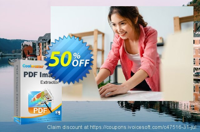Coolmuster PDF Image Extractor for Mac discount 50% OFF, 2019 New Year's Day offering sales
