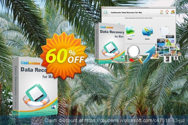 Coolmuster Data Recovery for Mac discount 50% OFF, 2019 Labour Day offer