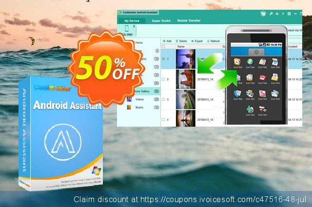Coolmuster Android Assistant - 1 Year License(21-25PCs) discount 50% OFF, 2019 Happy New Year offering sales