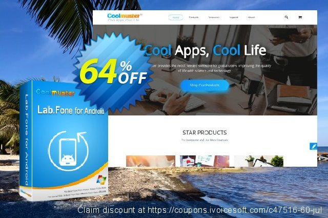 Coolmuster Lab.Fone for Android Lifetime (3 Devices, 1 PC) discount 64% OFF, 2019 College Student deals offering sales